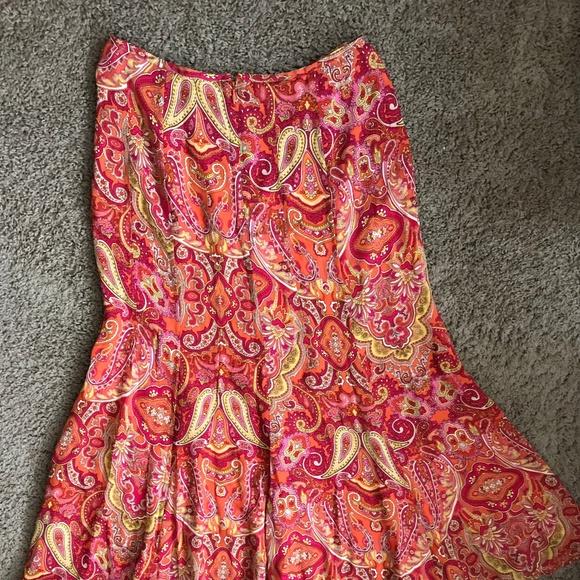 Talbots Dresses & Skirts - Talbots Women's Multi Color Long Skirt
